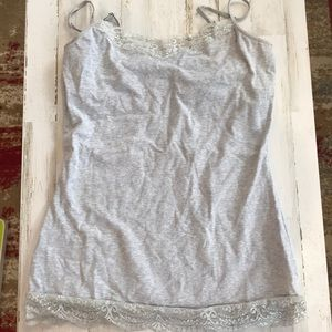Express Grey Lace Camisole✨